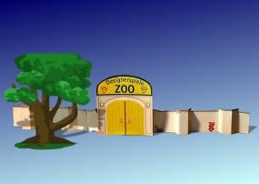Bastelbogen Zootor