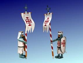 Bastelartikel Spielzeug Ritterfiguren Heiliges Grab