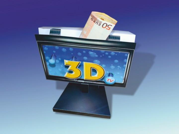 Geldgeschenke 3D TV 3D Bildschirm Designerspiele