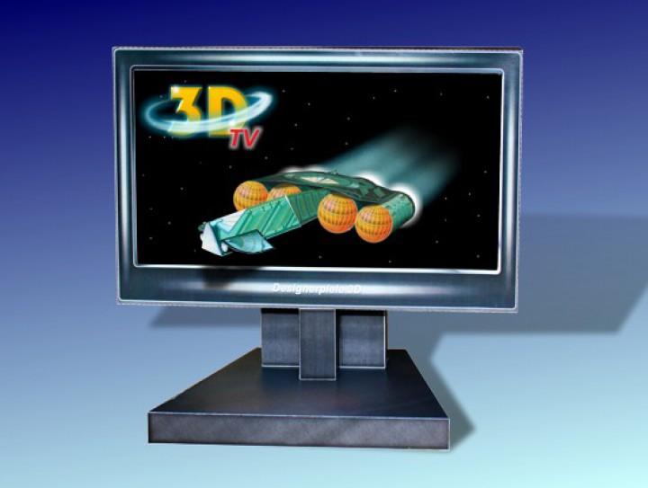 Money Gift 3d Tv Srceen Designerspiele