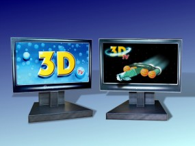 Bastelbogen 3D-TV / 3D-Bildschirm