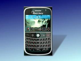 Bastelbogen Handy / Smartphone - BlackHarry