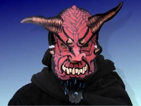Halloweenmaske Dämon