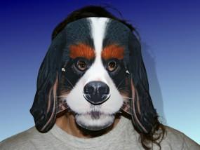 Tiermaske Hund Wuffel