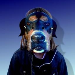 Tiermaske Hund Hasso