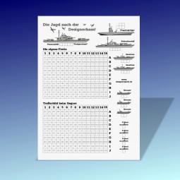 Ausdrucken: Schiffe versenken (Profi)