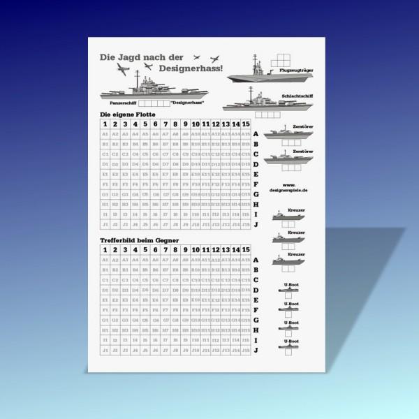 Schiffe Versenken Papier