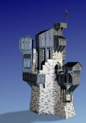 Bastelartikel Ork - Festung